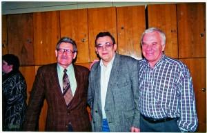 Геннадій Ляшенко, Євген Станкович і Олександр Костін