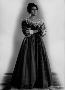 Лючія ді Ламмермур в однойменній опері Гаетано Доніцетті. 1963 р.