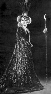 """Нариця ночі опері """"Чарівна флейта"""" Вольфганга Амадея Моцарта. 1966 р."""