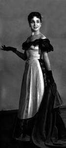 """Віолетта в опері """"Травіата"""" Джузеппе Верді.1957 р."""