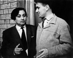 Із Веніаміном Тольбою. Кінець 1950-х рр.