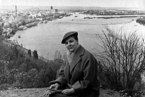 Лариса Остапенко на Володимирській гірці