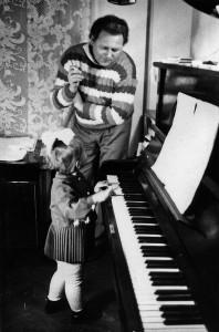 Олеся Білаш із батьком