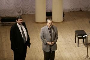 Із Євгеном Станковичем у Національній філармонії