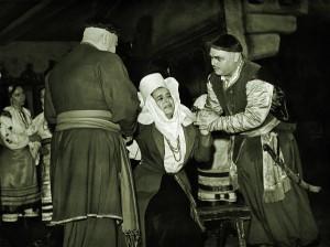 «Тарас Бульба» (пост. 1971 р.). Остап – Сергій Козак, Настя – Галина Туфтіна