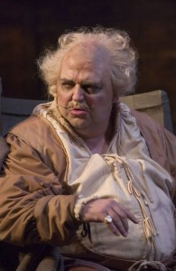 Павло Гунька. Фальстаф в однойменній опері Джузеппе Верді. Фото Майкла Купера