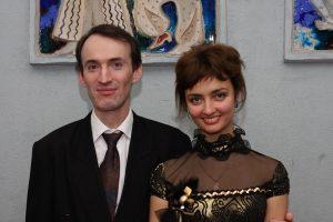 Тетяна Коробка і Микола Чикаренко