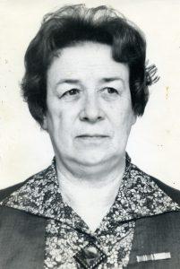 Олена Андрєєва. 1981 р.