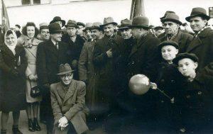 Делегати з'їзду композиторів СРСР. Серед них - Олена Андрєєва й Дмитро Рогаль-Левицький