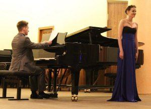 Марія Вінцерська (сопрано) і Петро Рудик (фортепіано)