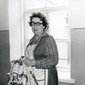 Олена Андрєєва удома. 1990-ті рр.
