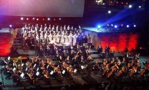 Виступ на фестивалі у Карфагені (Картажі)