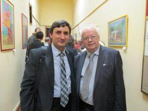 Андрій Сташевський і Мирослав Скорик