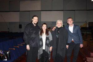Друзі і їхні мами: Микола й Ольга Лисенки, Валентина і Валерій Антонюки