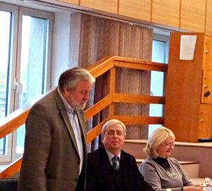 Євген Савчук (голова журі), Сергій Прокопов і Ніна Заболотна